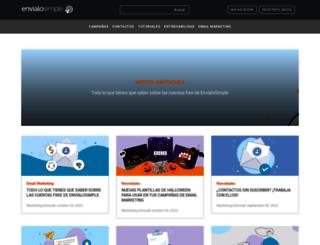blog.envialosimple.com screenshot