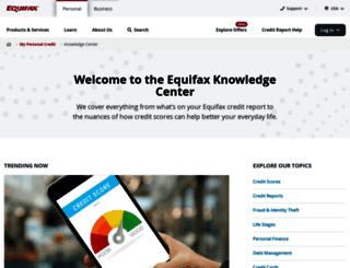 blog.equifax.com screenshot