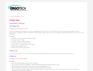 blog.ergotechgroup.com screenshot