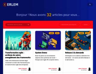 blog.erlem.fr screenshot