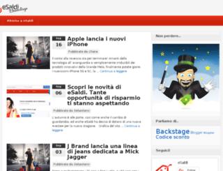 blog.esaldi.it screenshot