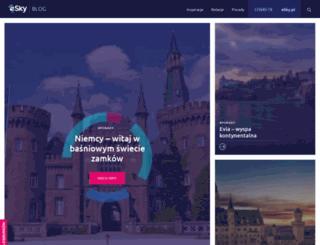 blog.esky.pl screenshot