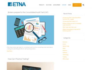 blog.etnasoft.com screenshot