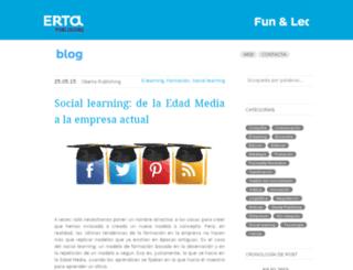blog.eurecamedia.com screenshot