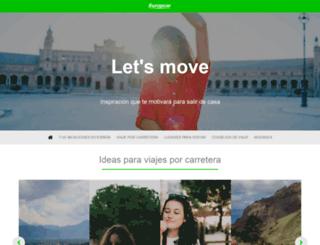 blog.europcar.es screenshot