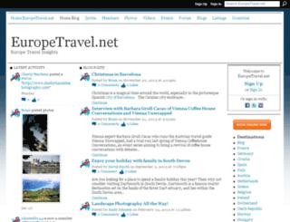 blog.europetravel.net screenshot