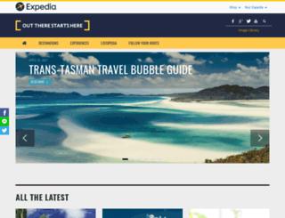 blog.expedia.co.nz screenshot
