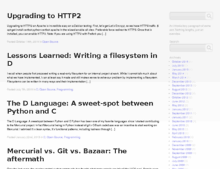 blog.experimentalworks.net screenshot