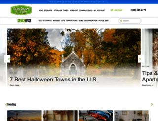 blog.extraspace.com screenshot