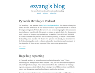 blog.ezyang.com screenshot