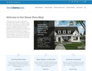 blog.familyhomeplans.com screenshot