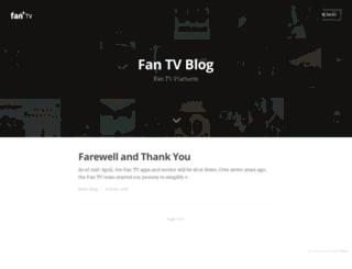 blog.fan.tv screenshot