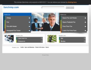 blog.fanchimp.com screenshot