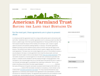 blog.farmland.org screenshot