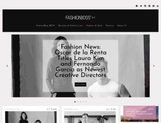 blog.fashionboss.com screenshot