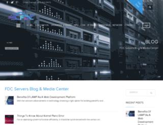 blog.fdcservers.net screenshot
