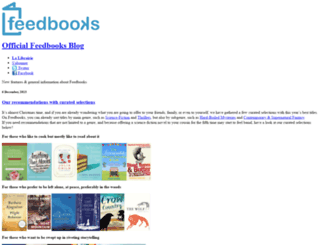 blog.feedbooks.com screenshot