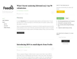 blog.feedio.co screenshot