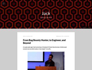 blog.fin1te.net screenshot