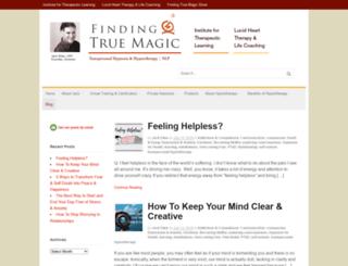 blog.findingtruemagic.com screenshot