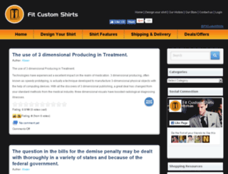 blog.fitcustomshirts.com screenshot