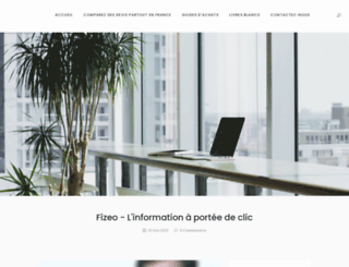blog.fizeo.fr screenshot