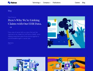 blog.flatiron.com screenshot