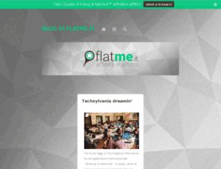 blog.flatme.it screenshot