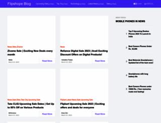 blog.flipshope.com screenshot