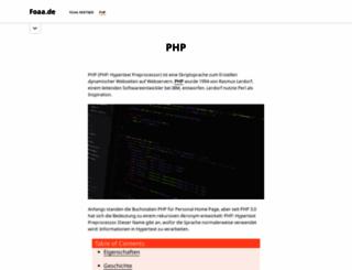 blog.foaa.de screenshot