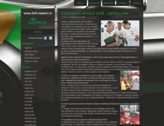 blog.folii-masini.ro screenshot