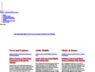 blog.folkschool.org screenshot