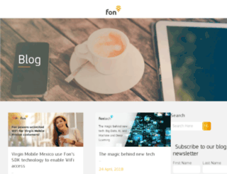 blog.fon.com screenshot