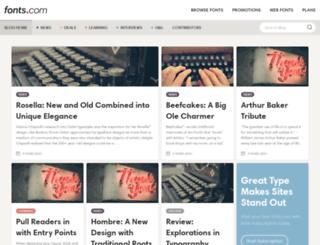 blog.fonts.com screenshot