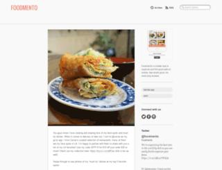 blog.foodmento.com screenshot
