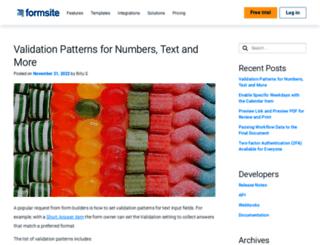 blog.formsite.com screenshot
