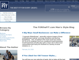 blog.forthefit.com screenshot