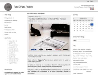 blog.fotodartefirenze.it screenshot