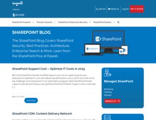 blog.fpweb.net screenshot