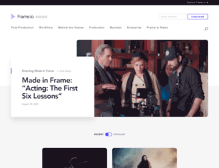 blog.frame.io screenshot