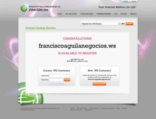 blog.franciscoaguilanegocios.ws screenshot