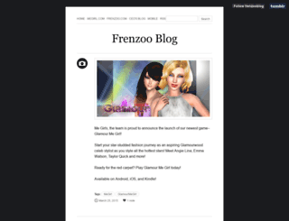 blog.frenzoo.com screenshot