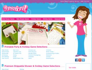 blog.funsational.com screenshot