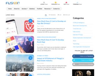 blog.fusioninformatics.com screenshot