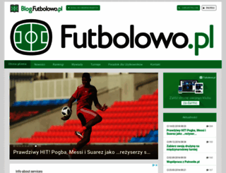 blog.futbolowo.pl screenshot