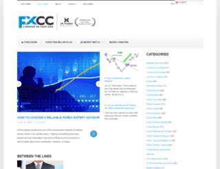 blog.fxcc.com screenshot