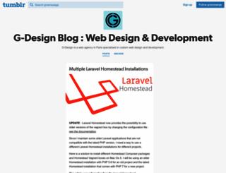 blog.g-design.net screenshot
