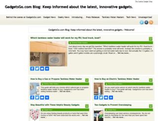 blog.gadgetsgo.com screenshot