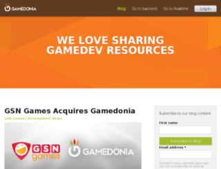 blog.gamedonia.com screenshot