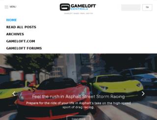 blog.gameloft.com screenshot